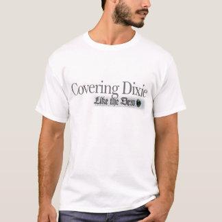 Bedeckung Dixie mögen den Tau T-Shirt