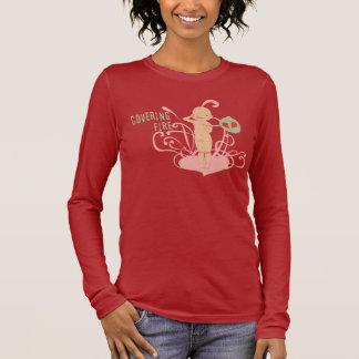 Bedeckungs-Feuer - armes Baby - lange Hülse Langarm T-Shirt