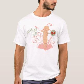 Bedeckungs-Feuer - schlechtes Baby   Mikro-Faser T-Shirt
