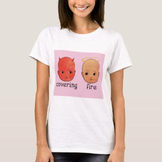 Bedeckungs-Feuer - Sünder u. Heiliges T-Shirt