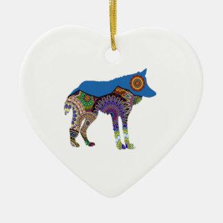 BEDINGUNGEN FÜR NEUES KERAMIK Herz-Ornament