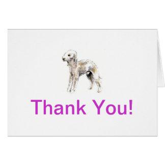 Bedlington Terrier Karte