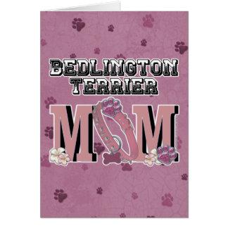 Bedlington Terrier MAMMA Karte