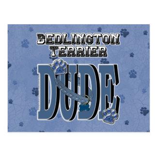 Bedlington Terrier TYP Postkarte
