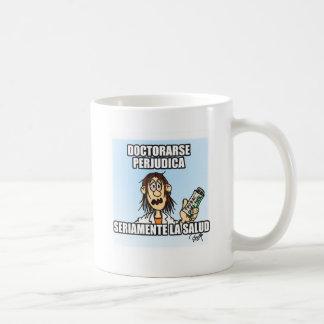 Beeinträchtigt sich zu promovieren ernst die kaffeetasse