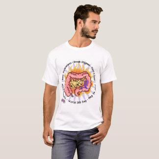Beenden Sie den Brand - IBD-Bewusstseins-T-Stück T-Shirt
