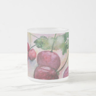 Beeren. Kirschen Mattglastasse