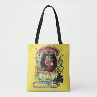 Beethovehen lustige Henne-Tierkomponist Beethoven Tasche