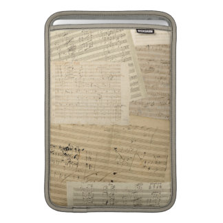 Beethoven-Musik-Manuskripte MacBook Air Sleeve