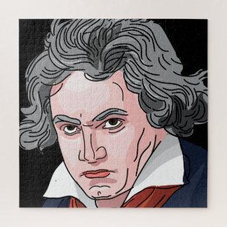 Beethoven-Porträt-Illustration
