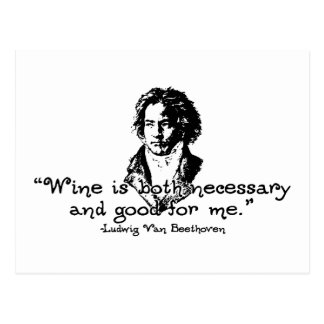 Beethoven - Wein Postkarte