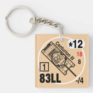Befehlshaber III Keychain Fob Schlüsselanhänger