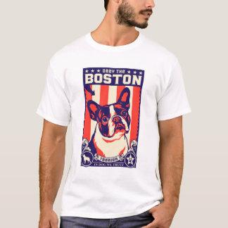 Befolgen Sie das Boston Terrier! T-Shirt