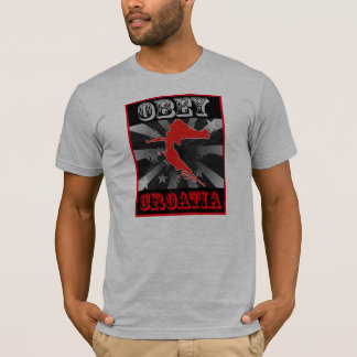 Befolgen Sie Kroatien T-Shirt