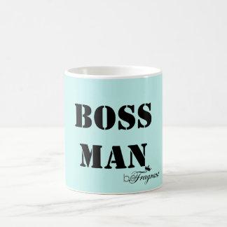 beFragrant klassischer weißer Tassen-Chef-Mann Kaffeetasse