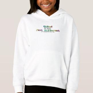 Begabt - gerade unterschiedlich hoodie