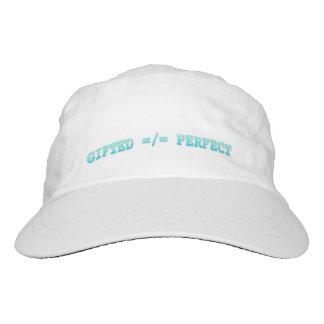 Begabt, nicht perfekt headsweats kappe