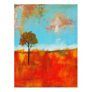 Begeisterungs-abstrakte Postkarte