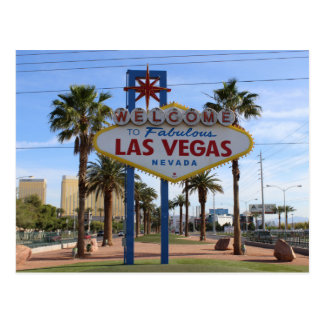 Begrüßen Sie nach Las Vegas Postkarte! Postkarte