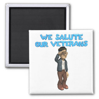 Begrüßen Sie unseren Veteranen-Magneten Quadratischer Magnet