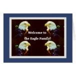 Begrüßen Sie zu Eagle die Familie Karten