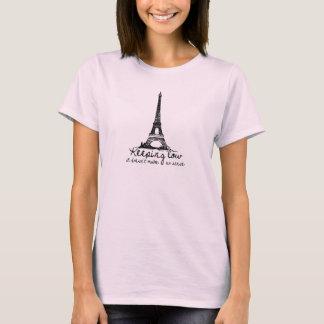 Behalten der niedrigen Damen T-Shirt