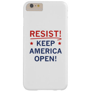 Behalten Sie Amerika offen Barely There iPhone 6 Plus Hülle
