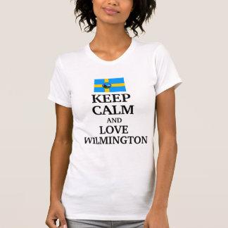 Behalten Sie cakm und Liebe Wilmington T-Shirt