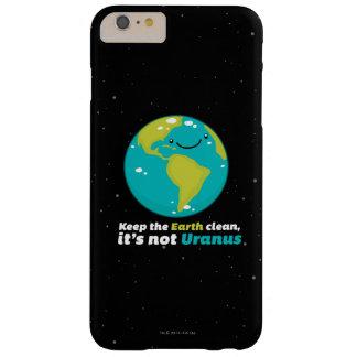 Behalten Sie die Erde sauber Barely There iPhone 6 Plus Hülle