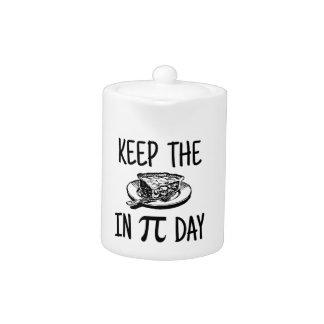 Behalten Sie die Torte an PU-Tag