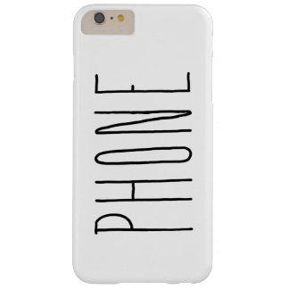 Behalten Sie es einfache Telefon-Abdeckung IPhone Barely There iPhone 6 Plus Hülle