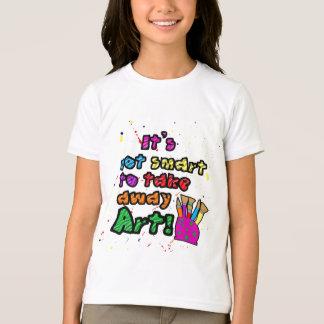 Behalten Sie Kunst im SchulShirt T-Shirt