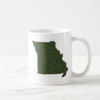 Behalten Sie Missouri-Grün Kaffeetasse