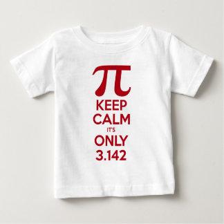 Behalten Sie Ruhe, die es nur PU ist Baby T-shirt
