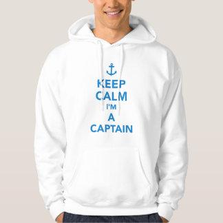 Behalten Sie Ruhe, die ich ein Kapitän bin Hoodie