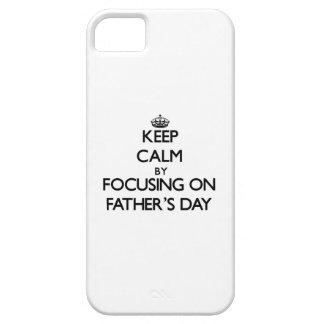 Behalten Sie Ruhe, indem Sie auf den Vatertag sich iPhone 5 Hülle