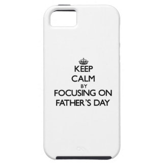 Behalten Sie Ruhe, indem Sie auf den Vatertag sich iPhone 5 Etuis