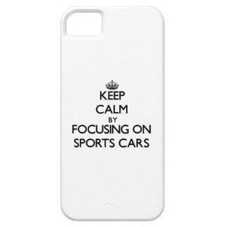 Behalten Sie Ruhe, indem Sie auf Sport-Autos sich iPhone 5 Etuis