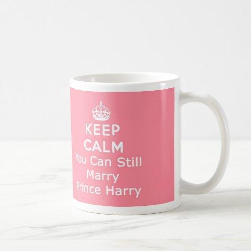 Behalten Sie Ruhe Kaffeetassen