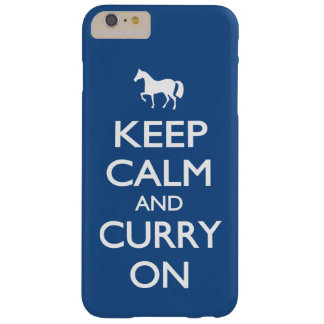 Behalten Sie Ruhe und Curry an Barely There iPhone 6 Plus Hülle