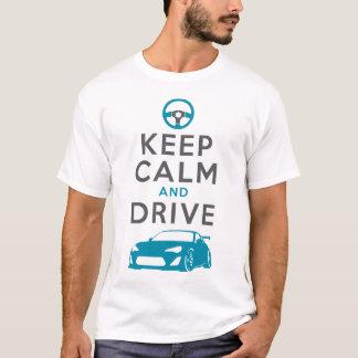 Behalten Sie Ruhe und fahren Sie - GT86- /version2 T-Shirt