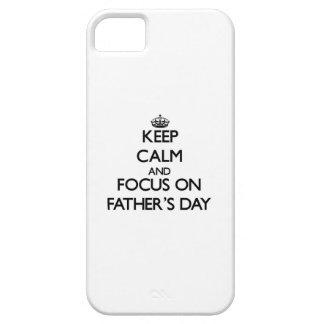 Behalten Sie Ruhe und Fokus am Vatertag Schutzhülle Fürs iPhone 5