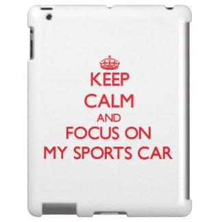 Behalten Sie Ruhe und Fokus auf meinem Sport-Auto