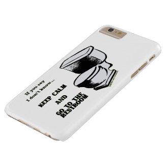 Behalten Sie Ruhe und gehen Sie zu den Barely There iPhone 6 Plus Hülle