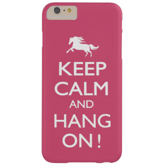 Behalten Sie Ruhe und hängen Sie an! Barely There iPhone 6 Plus Hülle