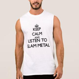 Behalten Sie Ruhe und hören Sie zum BEZAUBERNDEN Ärmellose Shirts