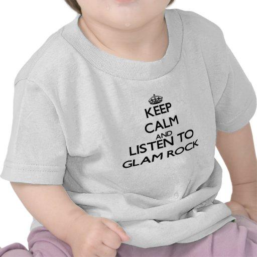 Behalten Sie Ruhe und hören Sie zum BEZAUBERNDEN Hemd
