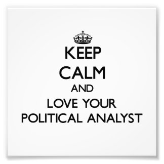 Behalten Sie Ruhe und Liebe Ihr politischer Kunst Foto
