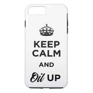 Behalten Sie Ruhe und Öl oben iPhone 8 Plus/7 Plus Hülle