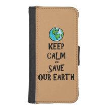 Behalten Sie Ruhe und retten Sie unsere Erde